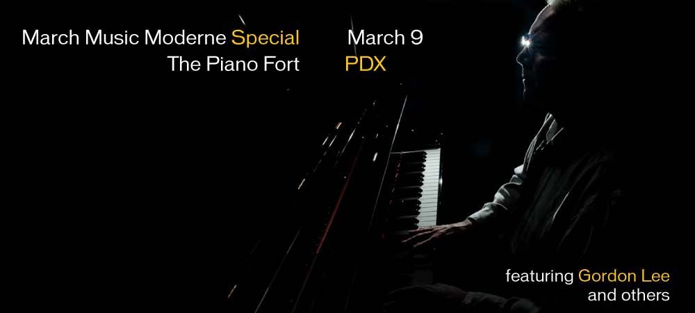 March Music Moderne 2013 Special: Gordon Lee