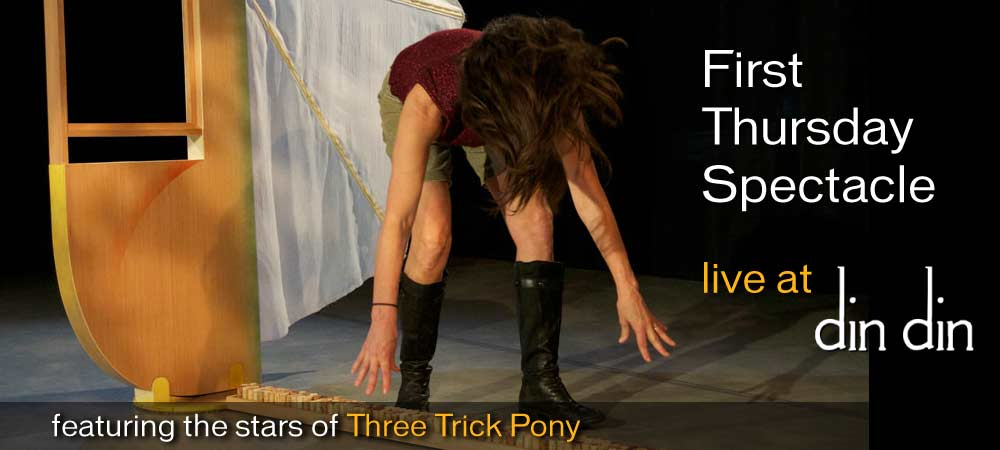 First Thursday @ Din Din: Three Trick Pony