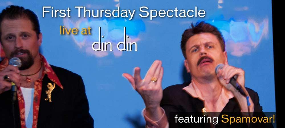 First Thursday Spectacle: DangerKitchen!