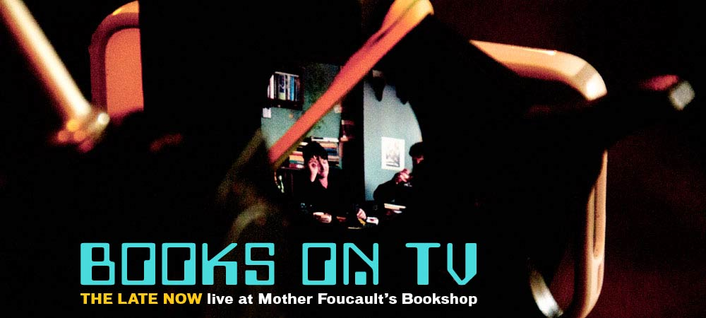 TLN @ Mother Foucault's #1 — on air  [photo: Kerry Davis]